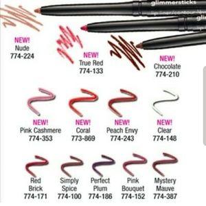 AVON Glimmersticks lip liner clear